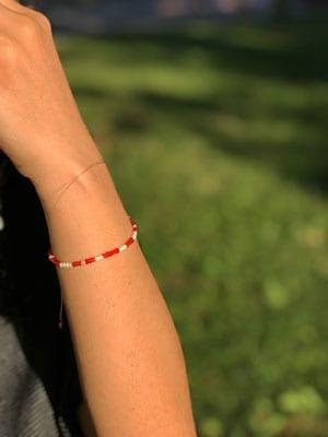 Candy Cane bracelet